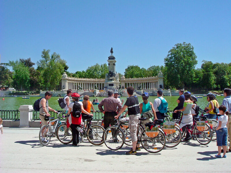 City Bike Tours in Madrid, Spain